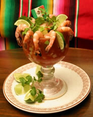 World's largest Shrimp Cocktail