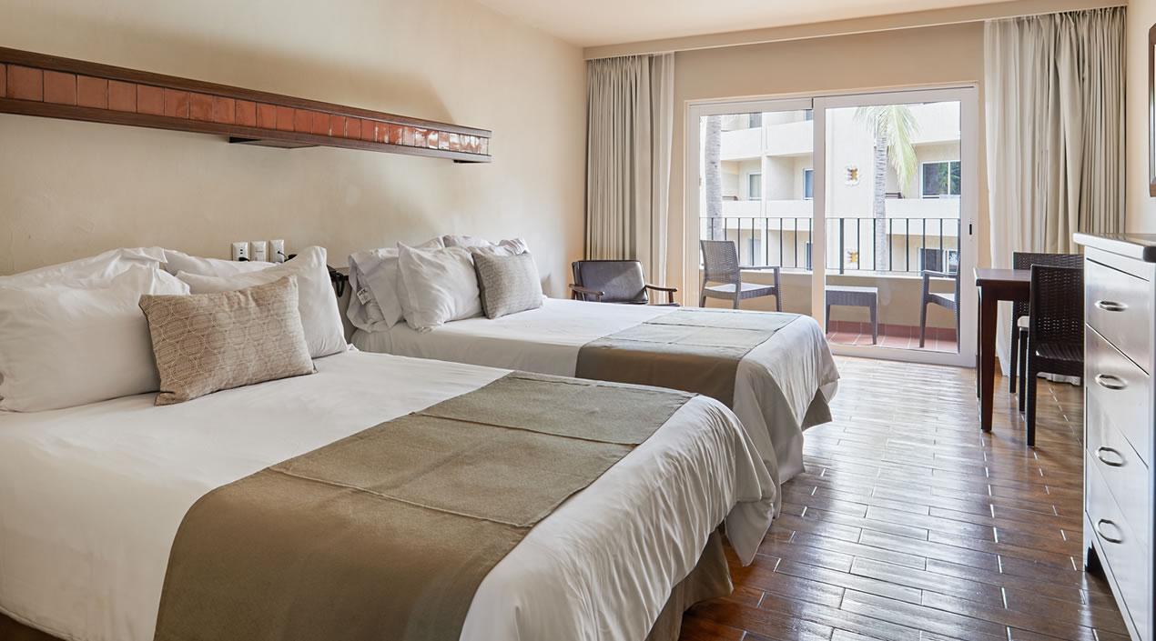 Garden or Pool View Room Hotel Playa Mazatlan