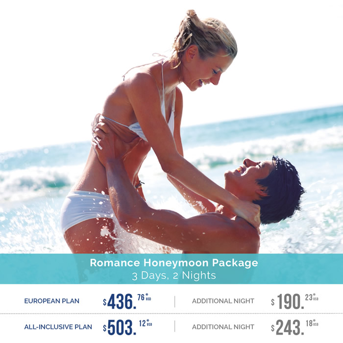 Honeymoon Packages and All-Inclusive Resorts