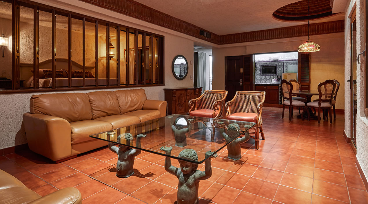 Living Room Cielito Lindo Penthouse Hotel Playa Mazatlan