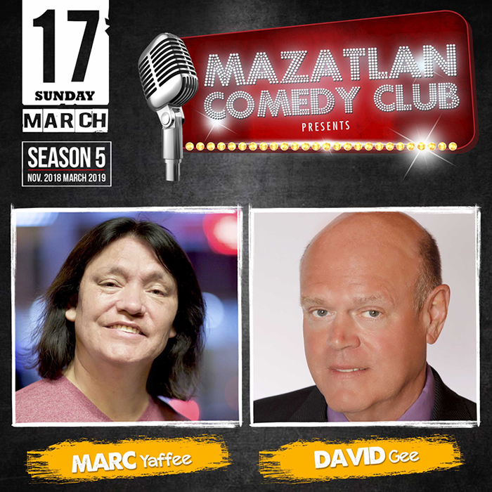 Mazatlan Comedy Club by Marc Yaffee and David Gee