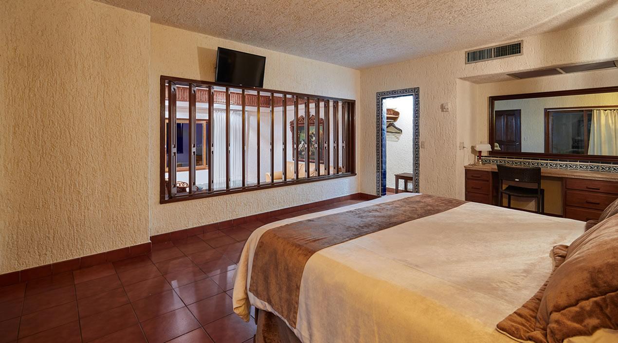 Recámara Principal del Penthouse Cielito Lindo Hotel Playa Mazatlán