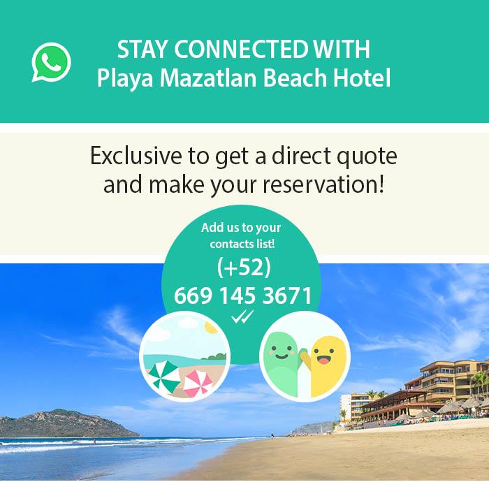 WhastApp Playa Mazatlan
