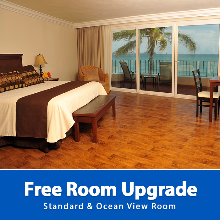 Free Room Upgrade Playa Mazatlan