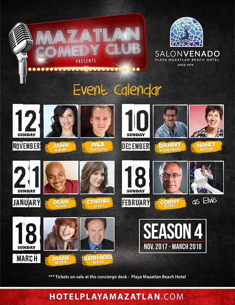 Mazatlan Comedy Club Season 4 Hotel Playa Mazatlan
