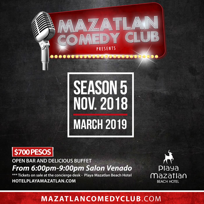 Mazatlan Comedy Club Season 5 Coming Soon