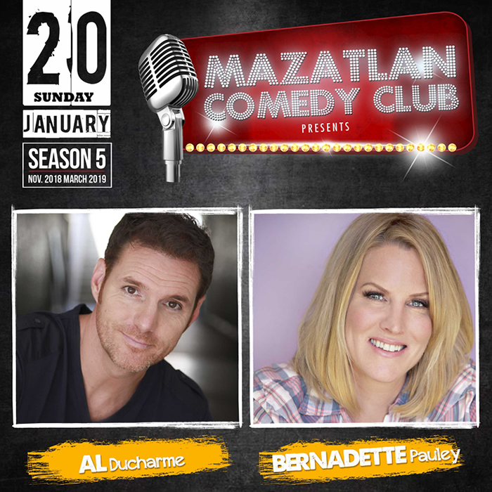Mazatlan Comedy Club by Al Ducharme and Bernadette Pauley