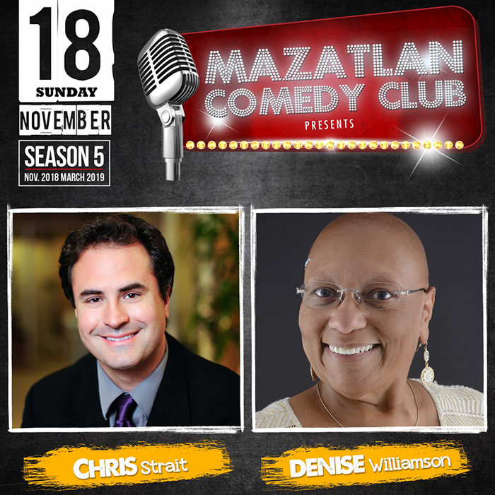 Mazatlan Comedy Club by Chris Strait and Denise Williamson