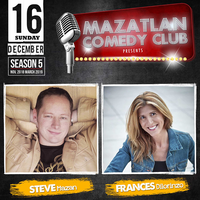 Mazatlan Comedy Club by Steve Mazan and Frances Dilorinzo