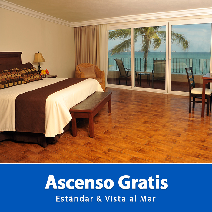 Ascenso Gratis Hotel Playa Mazatlán