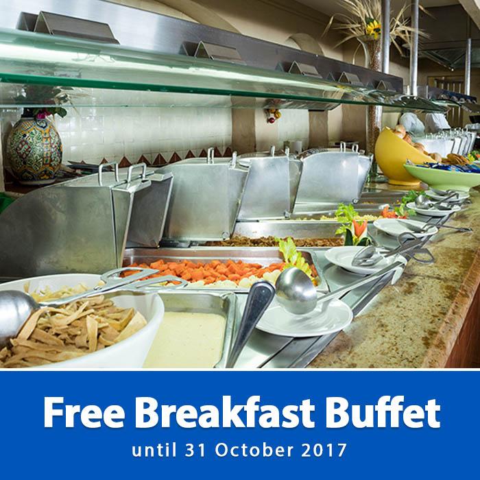 Free Breakfast Buffet Playa Mazatlan