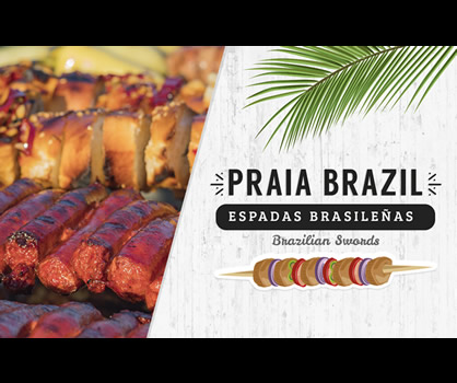 Praia Brazil Brazilian Swords Playa Mazatlan Beach Hotel