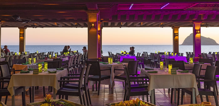 Restaurante La Terraza de Hotel Playa Mazatlán