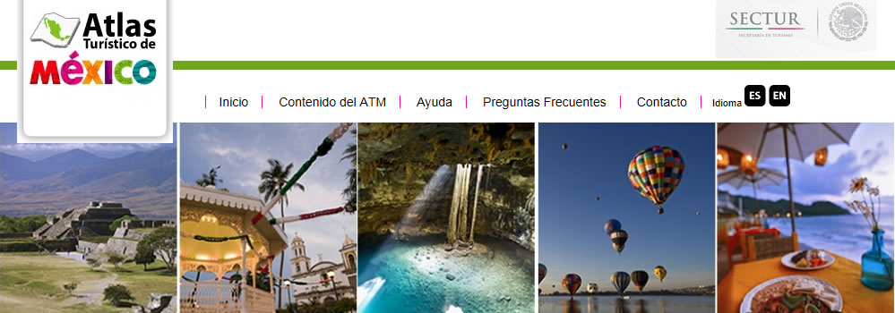 Mazatlan is promoted in the Tourist Atlas of Mexico