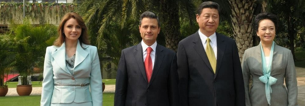 Chinese President visit Mexico