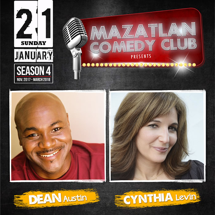 Dean Austin Cynthia Levin at Mazatlan Comedy Club
