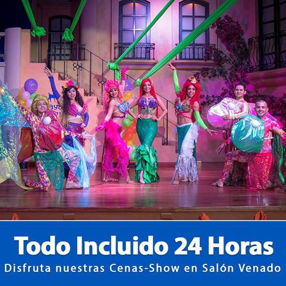 Disfruta Noches Tema en Plan Todo Incluido Hotel Playa Mazatlán