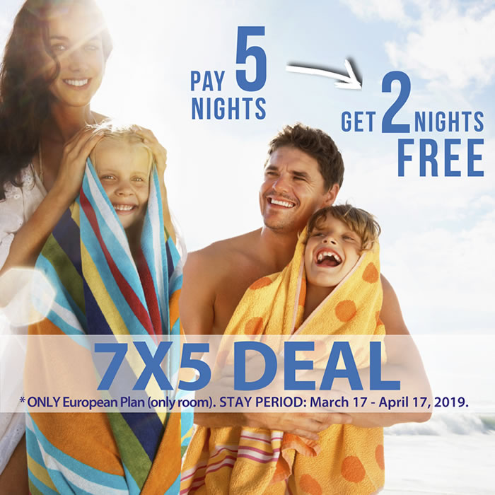 Free Nights 7x5 Hotel Playa Mazatlan
