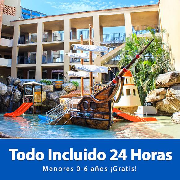 Menores Gratis Plan Todo Incluido Hotel Playa Mazatlán