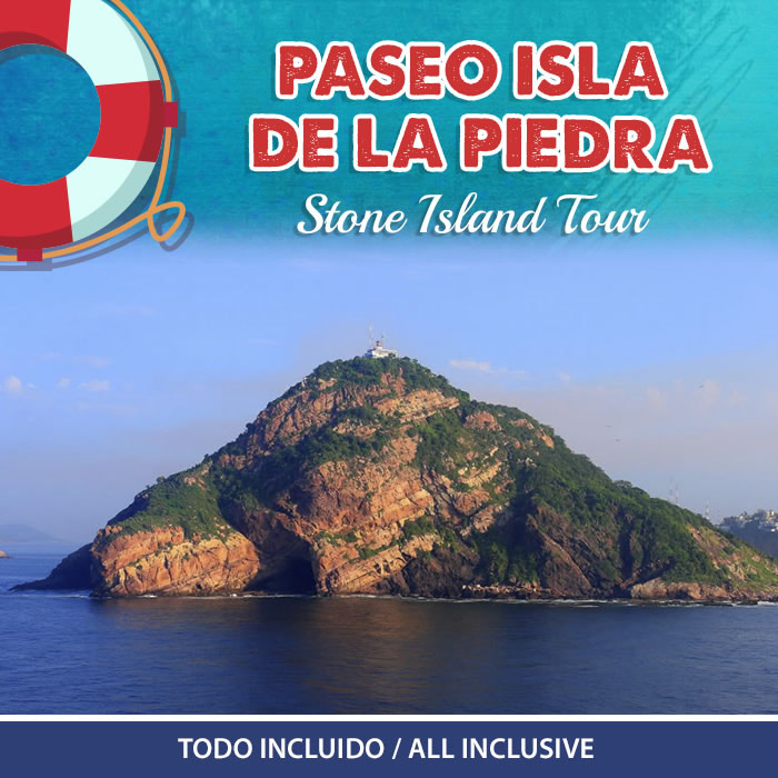 Paseo Isla de la Piedra Todo Incluido Playa Mazatlán