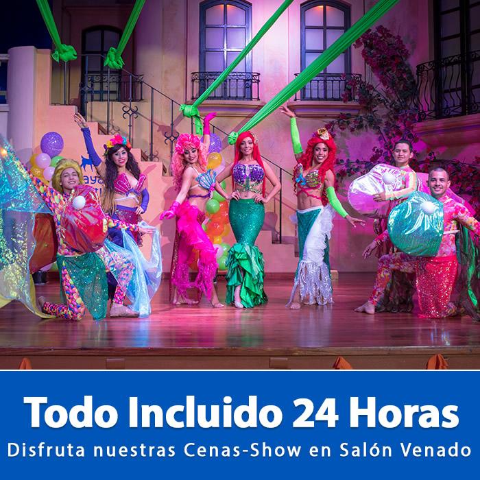 Todo Incluido 24 Horas Noches Tema Hotel Playa Mazatlán