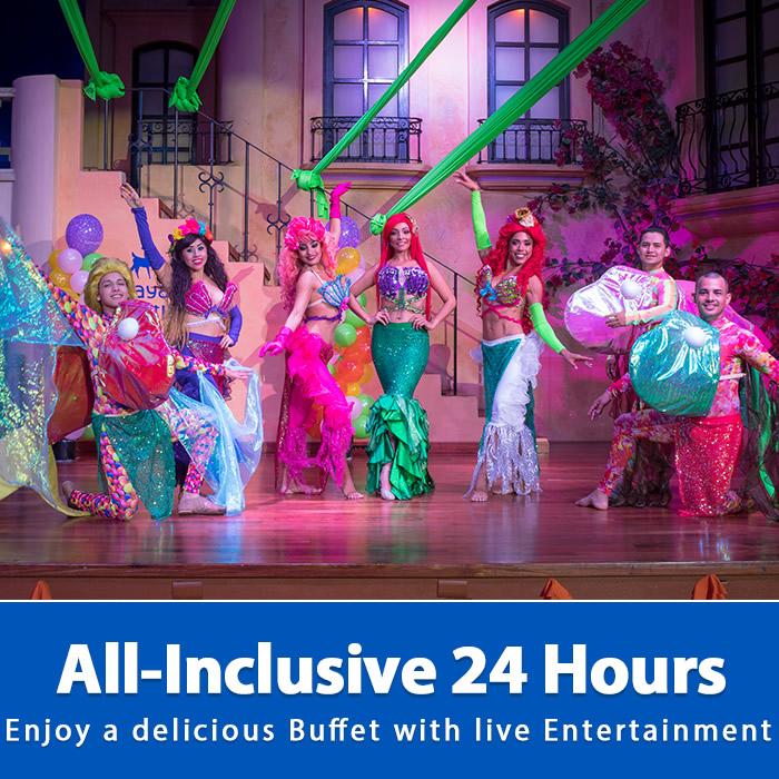 All Inclusive with Theme Nights Playa Mazatlan Beach Hotel