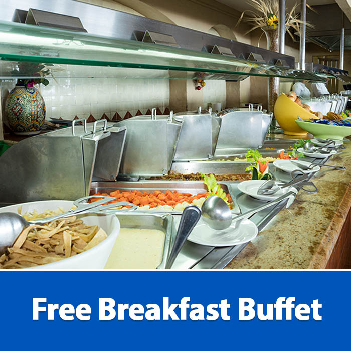 Free Breakfast Buffet Playa Mazatlan