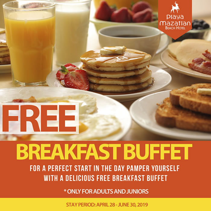 Free Breakfast Buffet