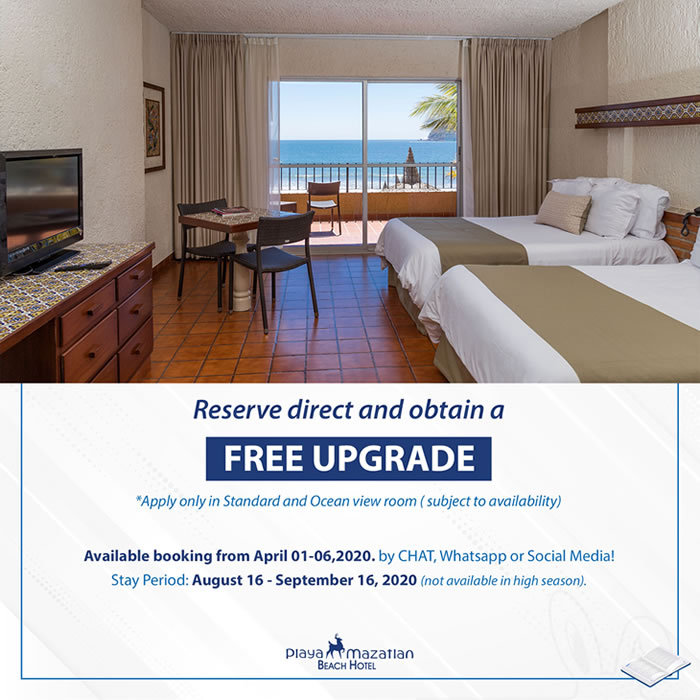 Free Room Upgrade Hotel Playa Mazatlan