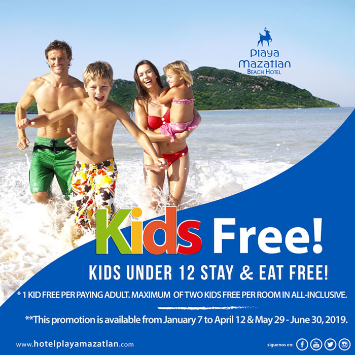 Kids Free All Inclusive Hotel Playa Mazatlan