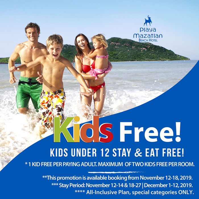 Kids Free All Inclusive Plan Hotel Playa Mazatlan