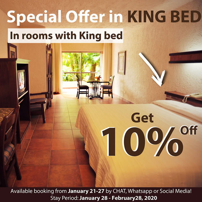 Special Offer in King Bed Hotel Playa Mazatlan