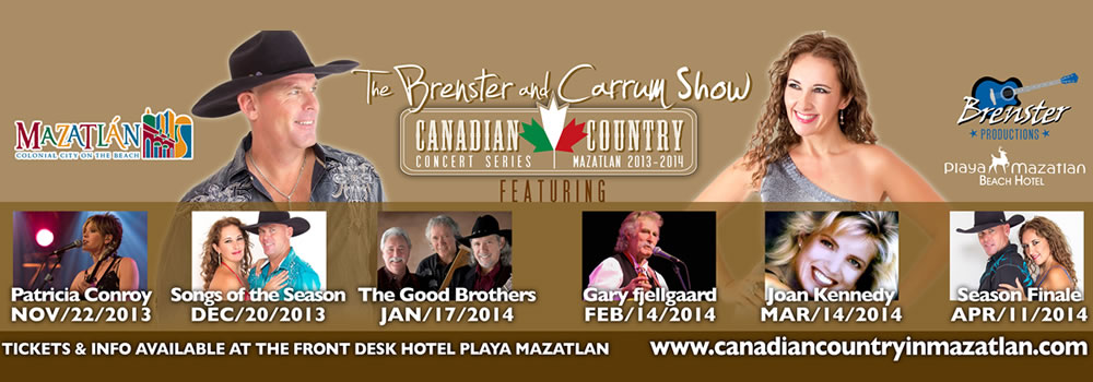 Brenster and Carrum Canadian Country Concert Series Shows