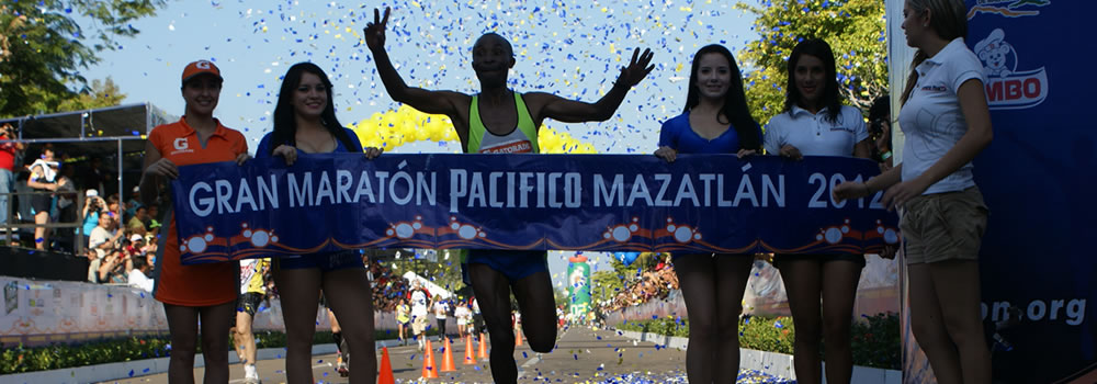 Announce news for the Great Pacific Marathon Mazatlan 2014