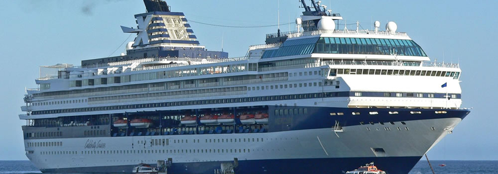 The Celebrity Cruise will arrive tomorrow to Mazatlan