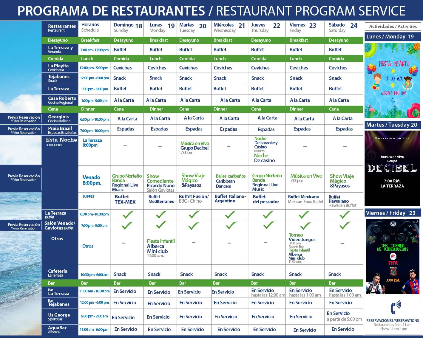 Playa Mazatlan Restaurants