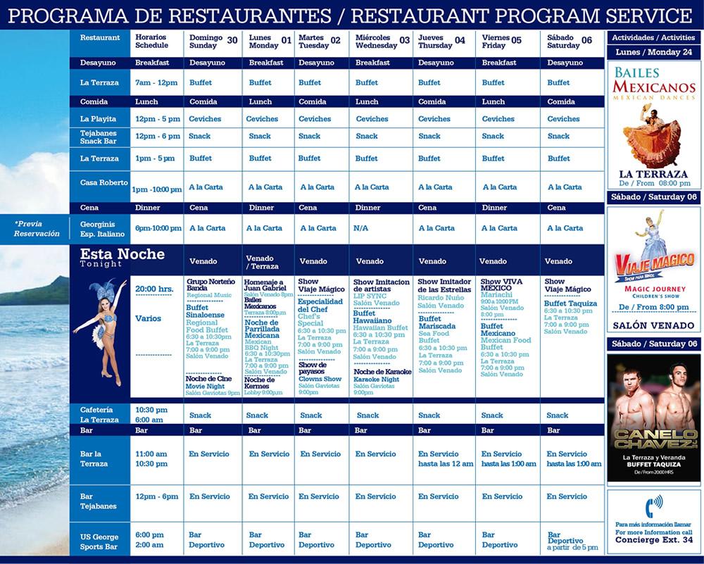 Playa Mazatlan Restaurants