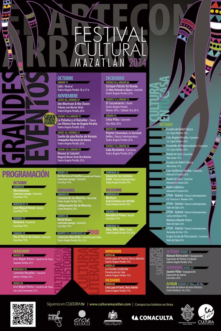 Calendariodeeventos >> Anuncian el inicio del Festival Cultural Mazatlán 2014   Hotel Playa Mazatlan