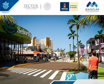Inician los trabajos de remodelación en la Zona Dorada de Mazatlán   Hotel  Playa Mazatlan