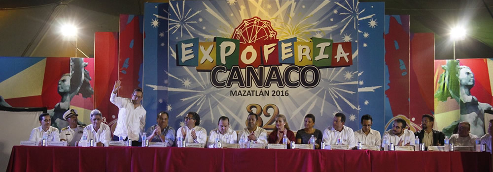 Feria Canaco Mazatlan 2016 was inaugurated
