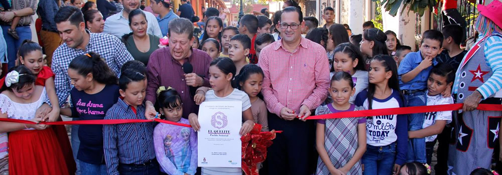 Inaugurate embellishment of El Quelite