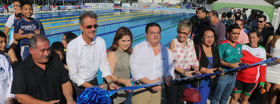 New Olympic Pool in Mazatlan
