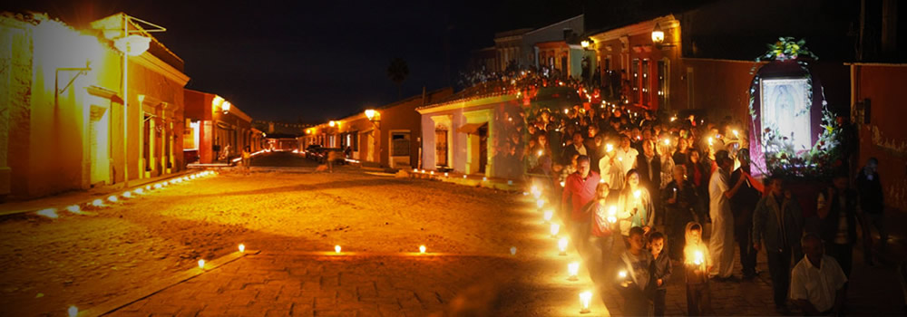 Candlelight Procession in Cosala