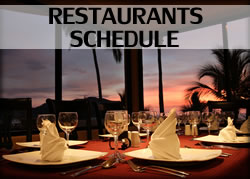 Restaurants Schedule