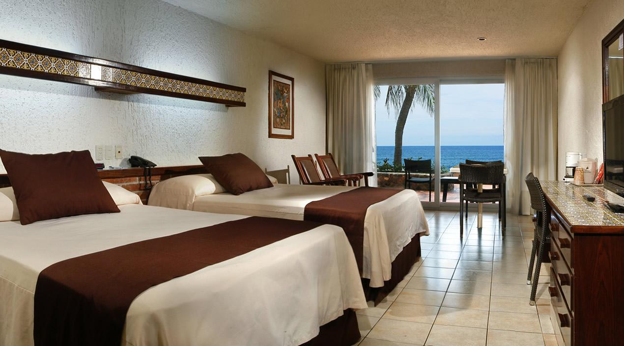Habitaciones Hotel Playa Mazatlán