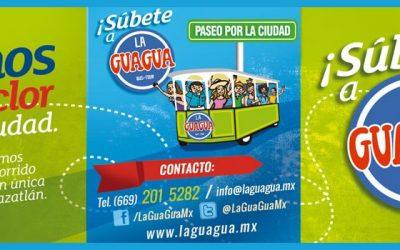 Súbete a la Guagua y conoce Mazatlán