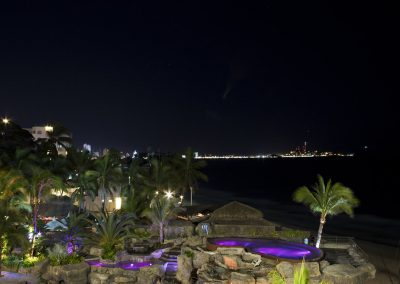 Playa Mazatlan at Night