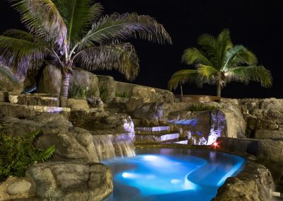 Jacuzzi Night Time Playa Mazatlan