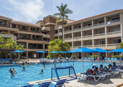 Main Pool Activities Playa Mazatlan
