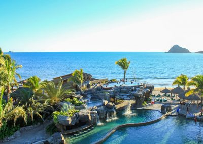 Pool and Jacuzzi Playa Mazatlan
